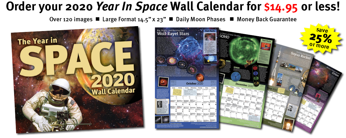 the new year in space wall calendar is stunning educational and unlike any calendar youve ever seen